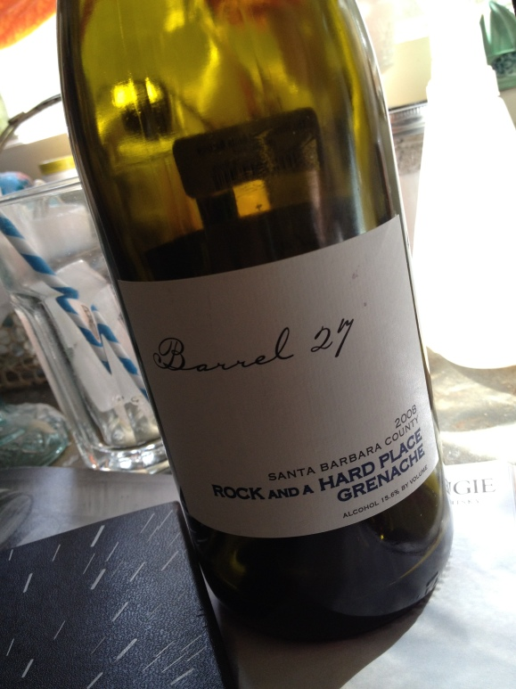 2008 Barrel 27 'Rock and a Hard Place' Grenache