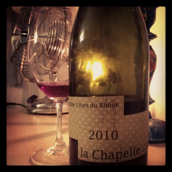 2010 La Chapelle, Deuxieme Tour, Cotes du Rhone
