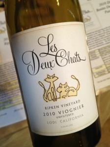 2010 Les Deux Chat Ripken Vineyard Viognier