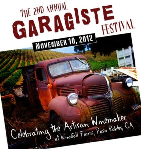 2nd Annual Garagiste Festival Paso Robles