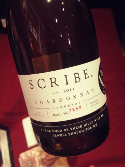 Scribe 2011 Carneros Chardonnay