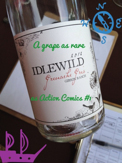 2012 Idlewild, Grenache Gris, Gibson Ranch