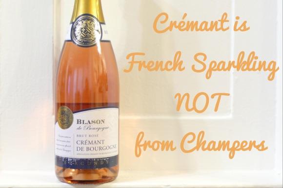 NV Blason de Bourgogne Rose, Crémant de Bourgogne, Burgundy