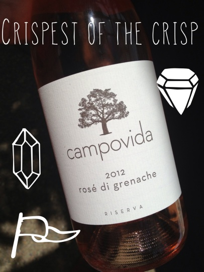 2012 Campovida – Rosé di Grenache Riserva, Russian River Valley