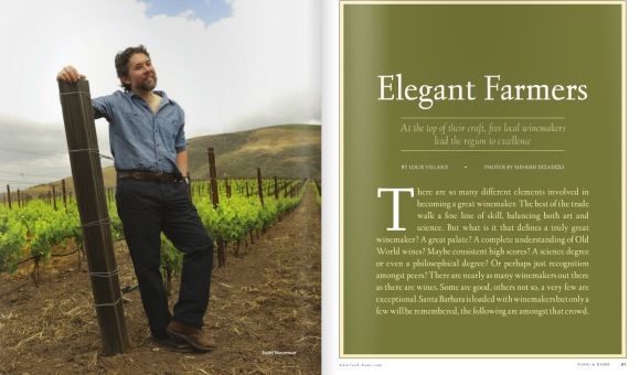 Food & Home Santa Barbara Wine Issue