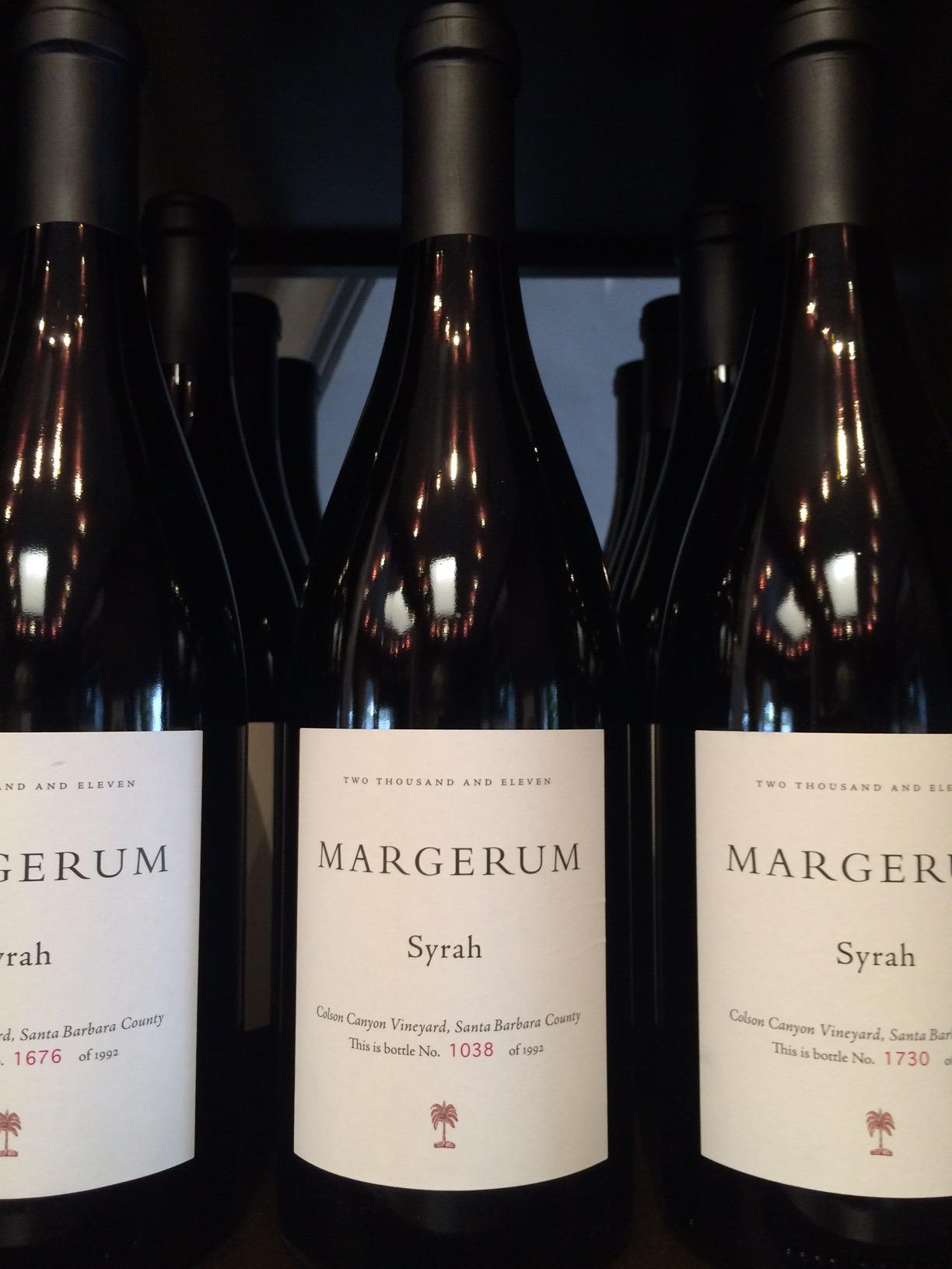 2011 Margerum Syrah, Colson Canyon Vineyard, Santa Barbara County