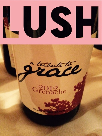 2012 A Tribute to Grace Grenache, Shake Ridge Ranch, Amador County